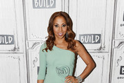 Holly Robinson Peete One Shoulder Dress