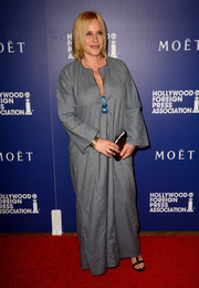 Patricia Arquette looked exotic in a flowing gray caftan during the Hollywood Foreign Press Association's Grants Banquet.
