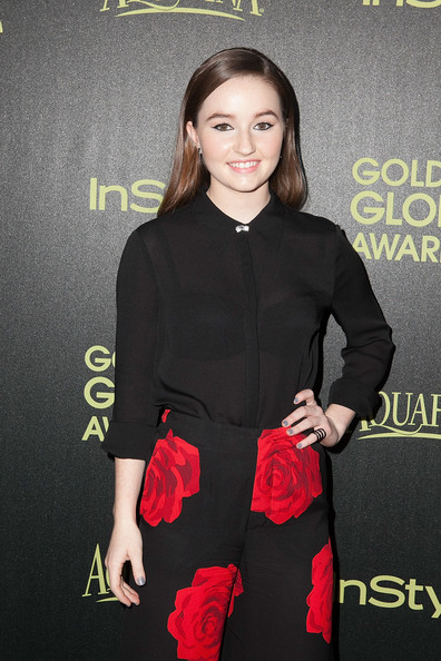 More Pics of Kaitlyn Dever Gray Nail Polish (3 of 6) - Nails Lookbook - StyleBistro [season,clothing,dress,fashion,little black dress,premiere,cocktail dress,formal wear,suit,carpet,style,arrivals,kaitlyn dever,fig,golden globe award,olive melrose place,west hollywood,california,hollywood foreign press association,instyle]