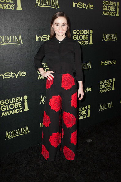 More Pics of Kaitlyn Dever Gray Nail Polish (4 of 6) - Nails Lookbook - StyleBistro [season,clothing,carpet,premiere,footwear,flooring,red carpet,arrivals,kaitlyn dever,fig,golden globe award,olive melrose place,west hollywood,california,hollywood foreign press association,instyle]
