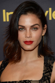 Jenna Dewan-Tatum sported a chic flippy 'do at the HFPA and InStyle Golden Globe Award season celebration.