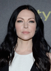 Laura Prepon styled her hair in a long wavy cut that flowed over her shoulders to frame her face.