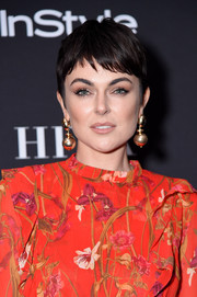 Serinda Swan kept it relaxed yet chic with this pixie at the HFPA and InStyle party during TIFF.