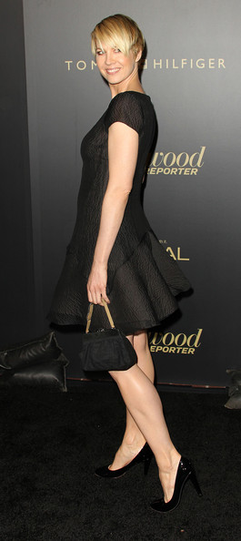 More Pics of Jenna Elfman Short Emo Cut (1 of 6) - Short Hairstyles Lookbook - StyleBistro [the hollywood reporter,clothing,dress,little black dress,shoulder,cocktail dress,leg,human leg,footwear,fashion,joint,jenna elfman,reporter,big 10 party - arrivals,hollywood,california,los angeles,getty house,nominees night party]