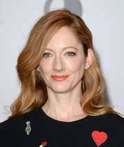 Judy Greer looked very ladylike with her soft waves at the Women in Entertainment Breakfast.