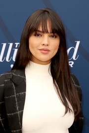 Eiza Gonzalez looked youthful wearing this long straight cut with bangs at the Hollywood Reporter's Empowerment in Entertainment event.