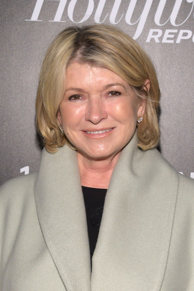 Martha Stewart sported a casual bob at the Hollywood Reporter's Most Powerful People in Media 2018.
