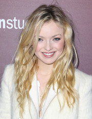 Francesca Eastwood worked an edgy-sexy vibe with this messy 'do at the Next Gen 20th anniversary gala.
