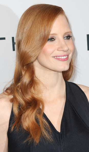 More Pics of Jessica Chastain Little Black Dress (3 of 26) - Jessica Chastain Lookbook - StyleBistro