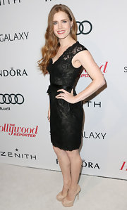 Amy Adams made this simple lace LBD look extraordinary at the Hollywood Reporter Nominees' Night.