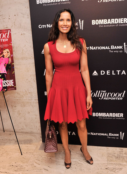 More Pics of Padma Lakshmi Cocktail Dress (1 of 2) - Padma Lakshmi Lookbook - StyleBistro