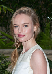 Kate Bosworth went for boho cuteness with this loose side braid during the 'Homefront' press conference.