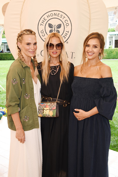 More Pics of Jessica Alba Ankle Boots (1 of 24) - Boots Lookbook - StyleBistro [the great adventure in east hampton,green,yellow,fashion,event,dress,formal wear,award,style,gown,rachel zoe,molly sims,jessica alba,the great,l-r,ny,east hampton,honest company and the great]