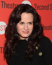 Elizabeth Reaser wore her shiny layered mane in tousled curls at the opening night of 'How I Learned to Drive.""