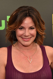 LuAnn de Lesseps sported a feathery bob at the premiere of 'Difficult People.'