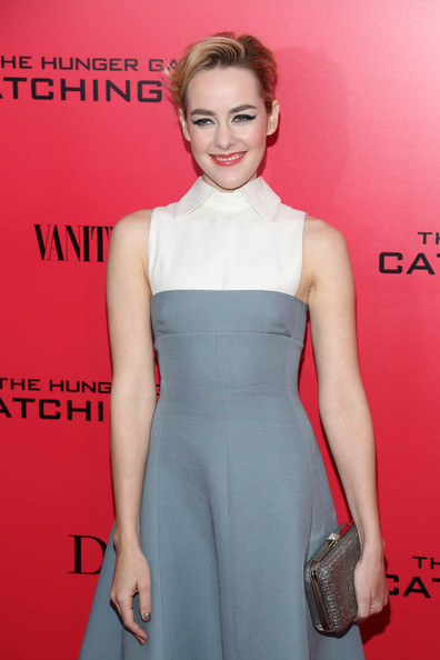 More Pics of Jena Malone French Twist (1 of 23) - Jena Malone Lookbook - StyleBistro