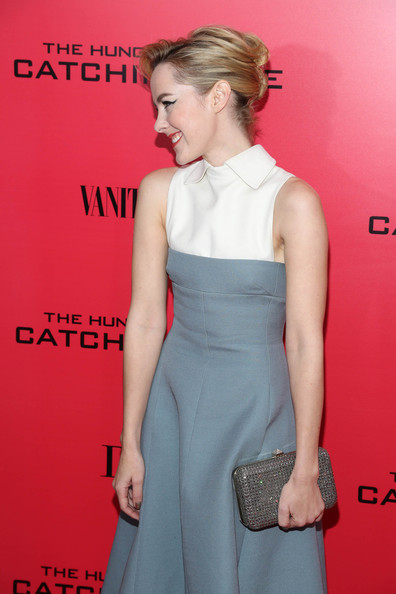 More Pics of Jena Malone French Twist (2 of 23) - Jena Malone Lookbook - StyleBistro
