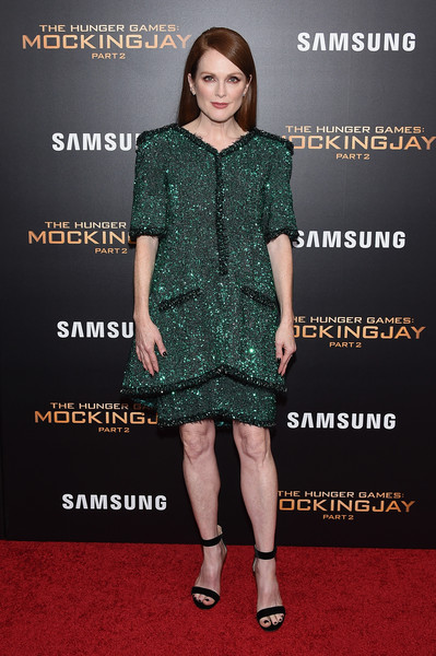 Julianne Moore at 'The Hunger Games: Mockingjay- Part 2' Premiere