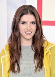 Anna Kendrick looked gorgeous with her boho waves at the Hunter for Target Ultimate Family Festival.