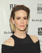Sarah Paulson was punk-chic at the Gotham Independent Film Awards wearing this slicked-back ombre 'do.