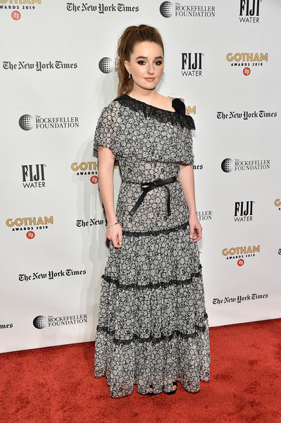 More Pics of Kaitlyn Dever Lace Dress (1 of 6) - Kaitlyn Dever Lookbook - StyleBistro [red carpet,red carpet,clothing,dress,carpet,hairstyle,premiere,fashion,flooring,cocktail dress,fashion model,kaitlyn dever,new york city,cipriani wall street,ifp,29th annual gotham independent film awards]