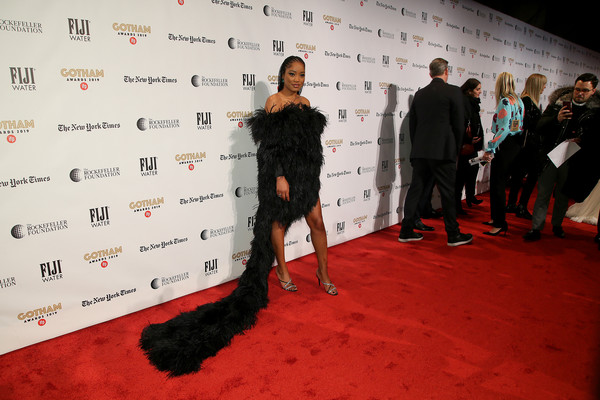 More Pics of Keke Palmer Strappy Sandals (1 of 14) - Keke Palmer Lookbook - StyleBistro [red carpet,red carpet,carpet,red,flooring,fashion,event,premiere,keke palmer,new york city,cipriani wall street,ifp,29th annual gotham independent film awards]