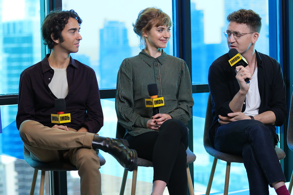 More Pics of Imogen Poots Penny Loafers (3 of 17) - Loafers Lookbook - StyleBistro [yellow,conversation,event,adaptation,interview,white-collar worker,employment,convention,alex wolff,imogen poots,joey klein of castle,imdb,toronto,ground,bisha hotel residences,quickbooks canada,intuit,the imdb studio]