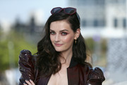 Lydia Hearst looked gorgeous with her lush curls at the #IMDboat at San Diego Comic-Con 2018.