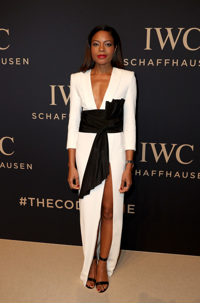 Naomie Harris in  Alexandre Vauthier Couture at the IWC Schaffhausen Gala