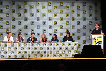 "Ian Somerhalder Nina Dobrev CW's ""The Vampire Diaries"" Panel - Comic-Con International 2014"