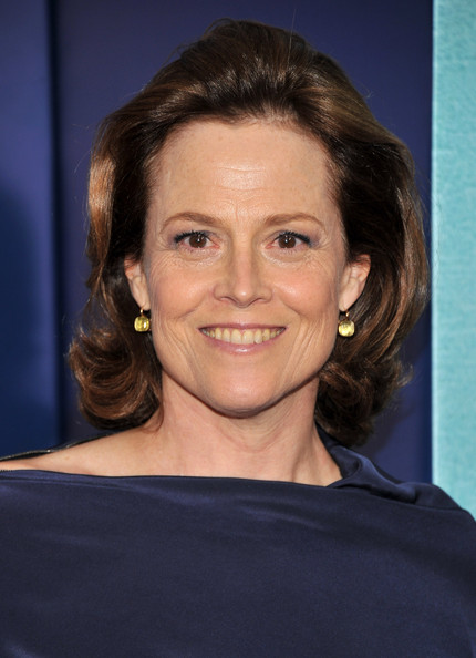 More Pics of Sigourney Weaver Bob (1 of 4) - Short Hairstyles Lookbook - StyleBistro [the ides of march,the ides of march,hair,face,hairstyle,eyebrow,chin,forehead,smile,brown hair,long hair,black hair,sigourney weaver,inside arrivals,new york,ziegfeld theater,premiere]