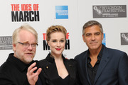 Evan Rachel Wood and Philip Seymour Hoffman Photo