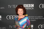 Imelda Staunton Wrap Dress