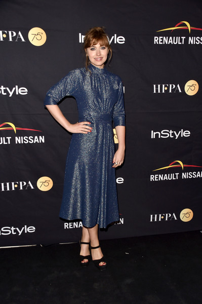 Imogen Poots Cocktail Dress [clothing,dress,red carpet,carpet,premiere,fashion,footwear,cocktail dress,flooring,formal wear,arrivals,imogen poots,toronto,canada,windsor arms hotel,hfpa,instyle,toronto international film festival,instyle annual celebration,celebration]