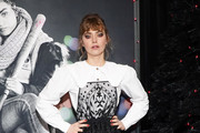Imogen Poots Loose Blouse