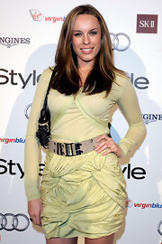 "Jessica McNamme showed off her long locks while hitting the 'InStyle"" event in Sydney, Australia."