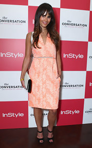 Jordana Brewster's dress at the 'InStyle' fete was so very spring.