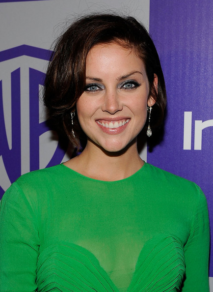 Jessica+Stroup in InStyle and Warner Bros. 67th Annual Golden Globes Post-Party