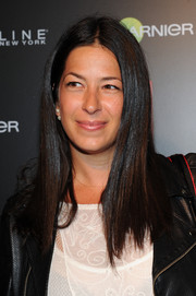 Rebecca Minkoff was sleekly styled with straight center-parted layers during the InStyle 20th anniversary party.
