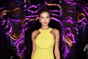 Irina Shayk Halter Dress