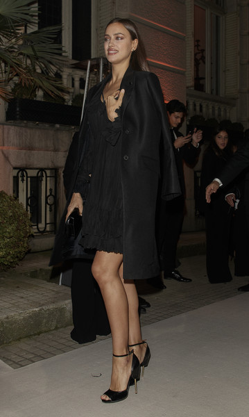 Irina Shayk Wool Coat