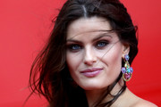Isabeli Fontana Gemstone Chandelier Earrings