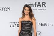 Isabeli Fontana Strapless Dress