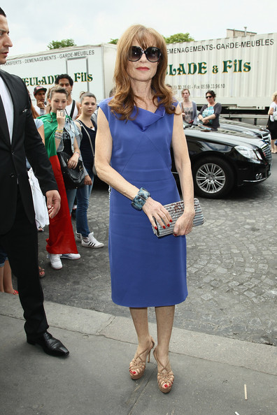 Isabelle Huppert Day Dress