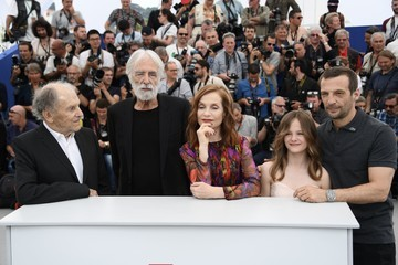 Isabelle Huppert Jean-Louis Trintignant 'Happy End' Photocall - The 70th Annual Cannes Film Festival
