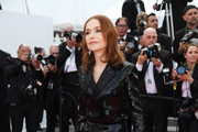 Isabelle Huppert Tuxedo Dress