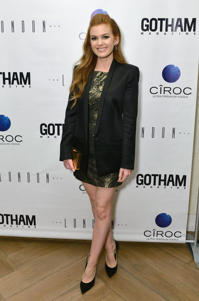 Isla Fisher Blazer