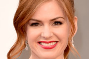 Isla Fisher Ponytail
