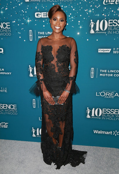 Issa Rae Embroidered Dress