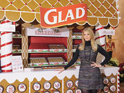 Ivanka Trump wore a sweet tweed dress over a turtleneck top for the Glad sponsored benefit.